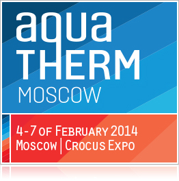 The 18th International Exhibition AQUA-THERM Moscow 2014