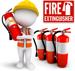 Fire security for house