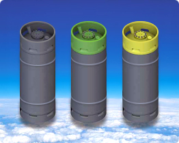 Cylinders for liquefied gas