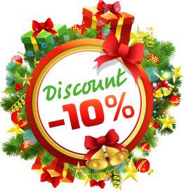 New Year discount for the equipment