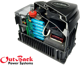 Inverter of uninterruptible power supply from «OutBack»