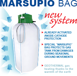 Unique protecting bag Marsupio